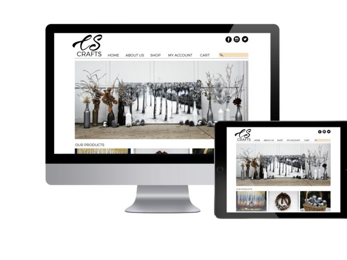Store Website Mockup